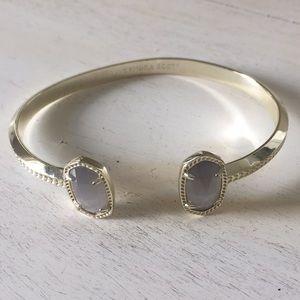 Kendra Scott Elton Silver Bracelet in Slate
